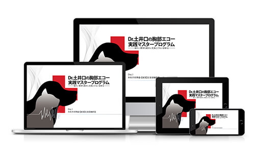Dr.土井口の 胸部エコー実践マスタープログラム~細かい異常も絶対に見落とさない診断法~│医療情報研究所DVD