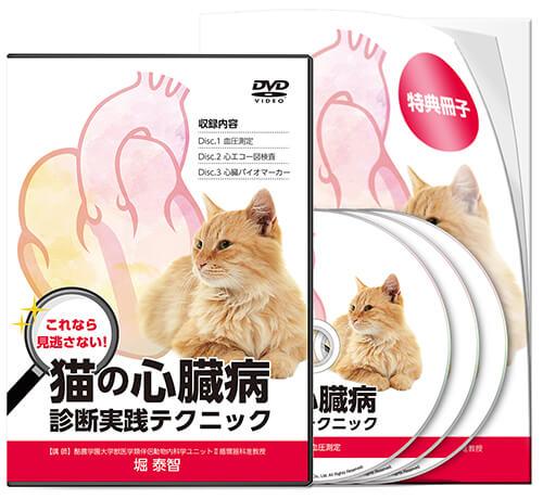 これなら見逃さない! 猫の心臓病 診断実践テクニック