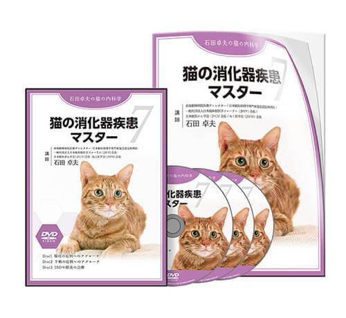猫の消化器疾患マスター