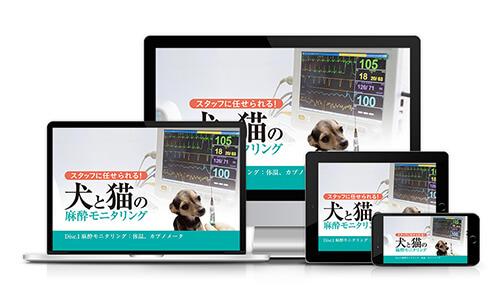 スタッフに任せられる!犬と猫の麻酔モニタリング│医療情報研究所DVD