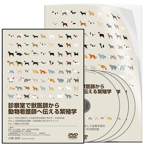 診察室で獣医師から動物看護師へ伝える繁殖学
